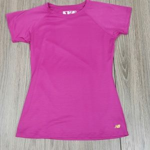 New Balance hot pink shirt sz XS
